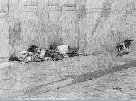 Source: The poor in great cities (1896 ) via Wellcome Images
