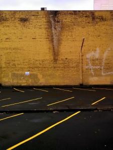 brick wall abstract art