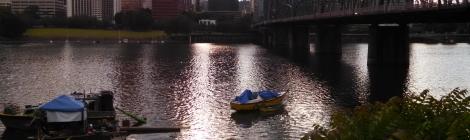Portland river view