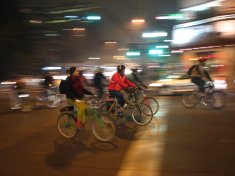 bicycle safety in numbers effect