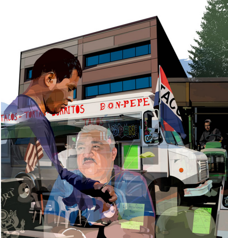 Illustration by Neil Shrubb for Oregon Business