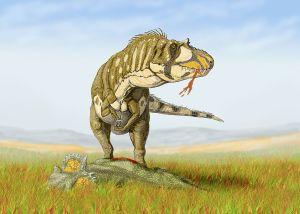 Daspletosaurus torosus by Dmitry Bogdanov [CC BY-SA 3.0] via Wikimedia Commons